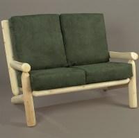 Cedar Log Living Room Seating in Sofas